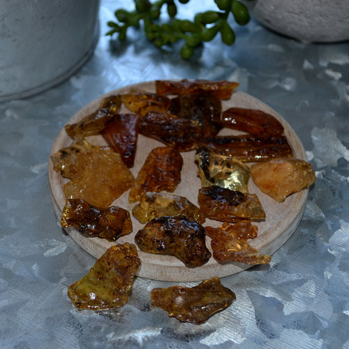 Copal Amber Pieces  Upto 2gms Each (T81-9B)
