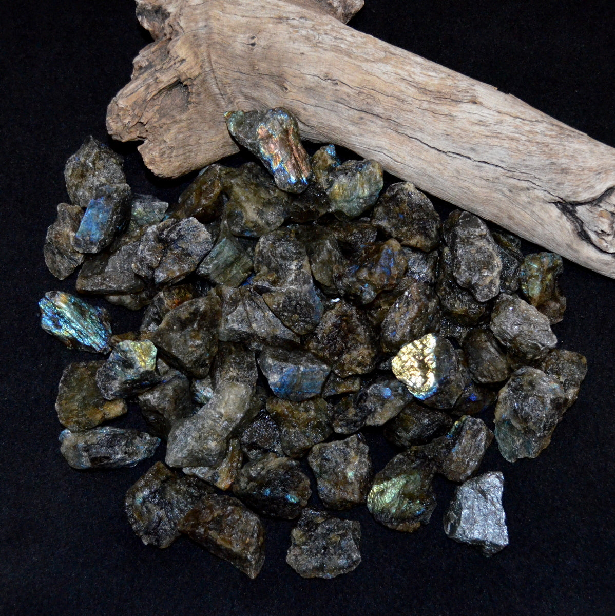 Labradorite Natural Chunks - Mystery Magic Grounding - Buy Now at Illiom Crystals - Afterpay Available