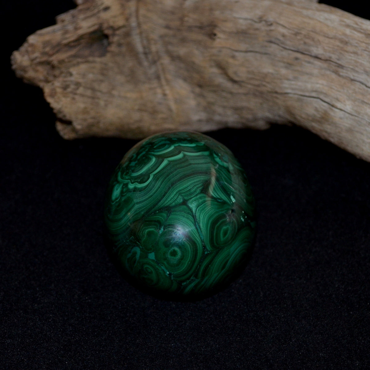 Stunning Large Malachite Egg - Protective Healing Truth - Shop Now at Illiom Crystals - We Have Afterpay