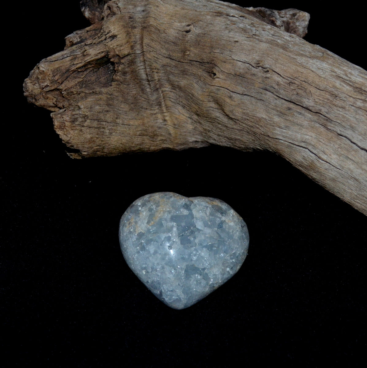 Celestite Geode Heart Madagascar - Celestial Realm Angels Harmony Calm - Shop now at Illiom Crystals - Afterpay Available