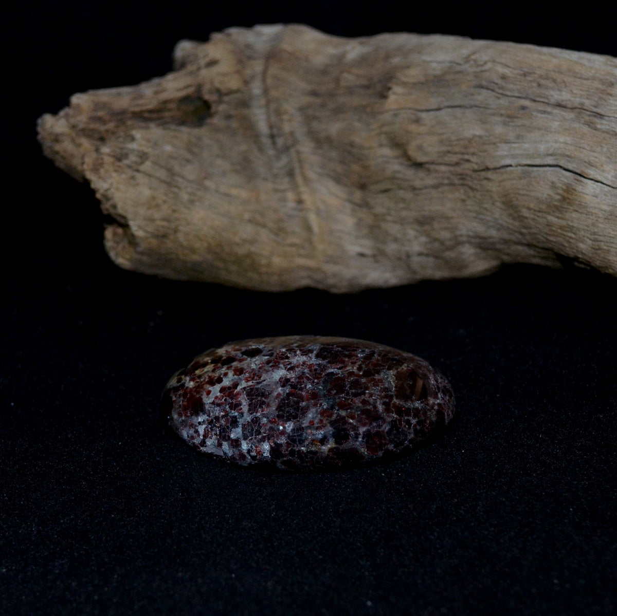Red Garnet Palmstone - Loyalty Passion Relationships - Buy Now at Illiom Crystals - Afterpay Available