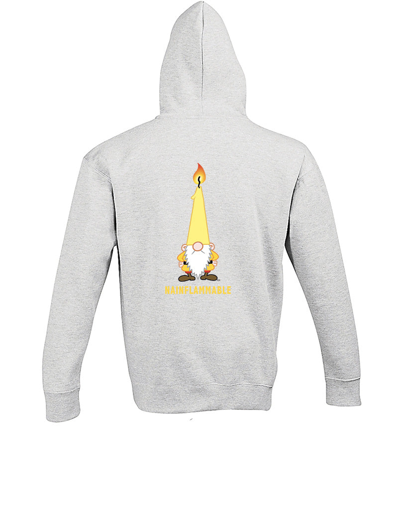 NAINFLAMMABLE - Sweat-Shirt Unisexe à Capuche