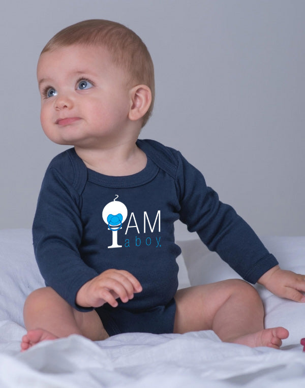 I Am a Boy - Body Manches Longues - 100% Bio / Organic