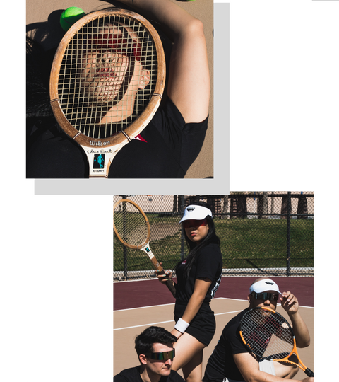 Tennis Club Shoot For KawaiiKowai T-Shirt Spring Collection