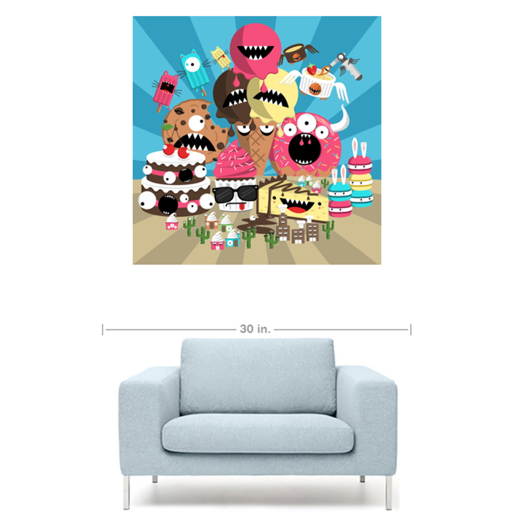 HOW SWEET IT IS Canvas Print