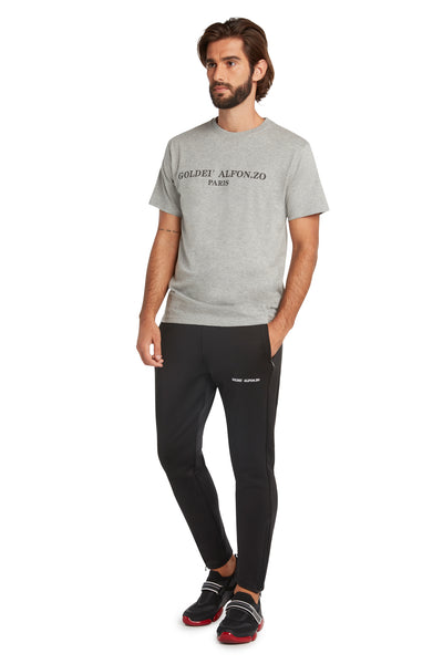 GREY & BLACK T-SHIRT