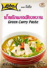 "Set of 3 Pieces (50g. X 3pcs.) - ""Lobo"" Thai Instant Paste - Green Curry Flavor / Delicious Thai Curry Soup / Thai Food / Ready to Cook / Easy Homecooking / MUST TRY"
