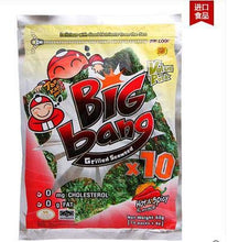 Taokaenoi, Big Bang Grilled Seaweed Japanese Style, Hot and Spicy Flavour, Net weight 60g X 2 Packs