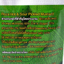 ROZA Hot & Sour Pickled Mustard 145 g