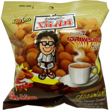 Koh-kae Snack Peanut Coffee Flavor Coated Net Wt 45 G (1.58 Oz) X 4 Bags