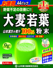 Yamamoto Kanpoh Pharmaceutical 100% Young Barley Grass Powder, Commercial, 0.1 oz (3g)
