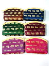 SET OF 6 NEW STYLE#1 BAG ELEPHANT MULTI-COLOR THAI HANDMADE PURSE SMALL WALLET