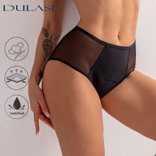 Sexy Women Menstrual Panties Physiological Period Undies 4 Layer Leakproof Mesh Absorbtent Underwear
