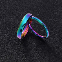 2mm 4mm Men Women Thin Titanium Steel Ring Simple Colorful Smooth Engagement Ring Smooth Simple Wedding Rings For Couple