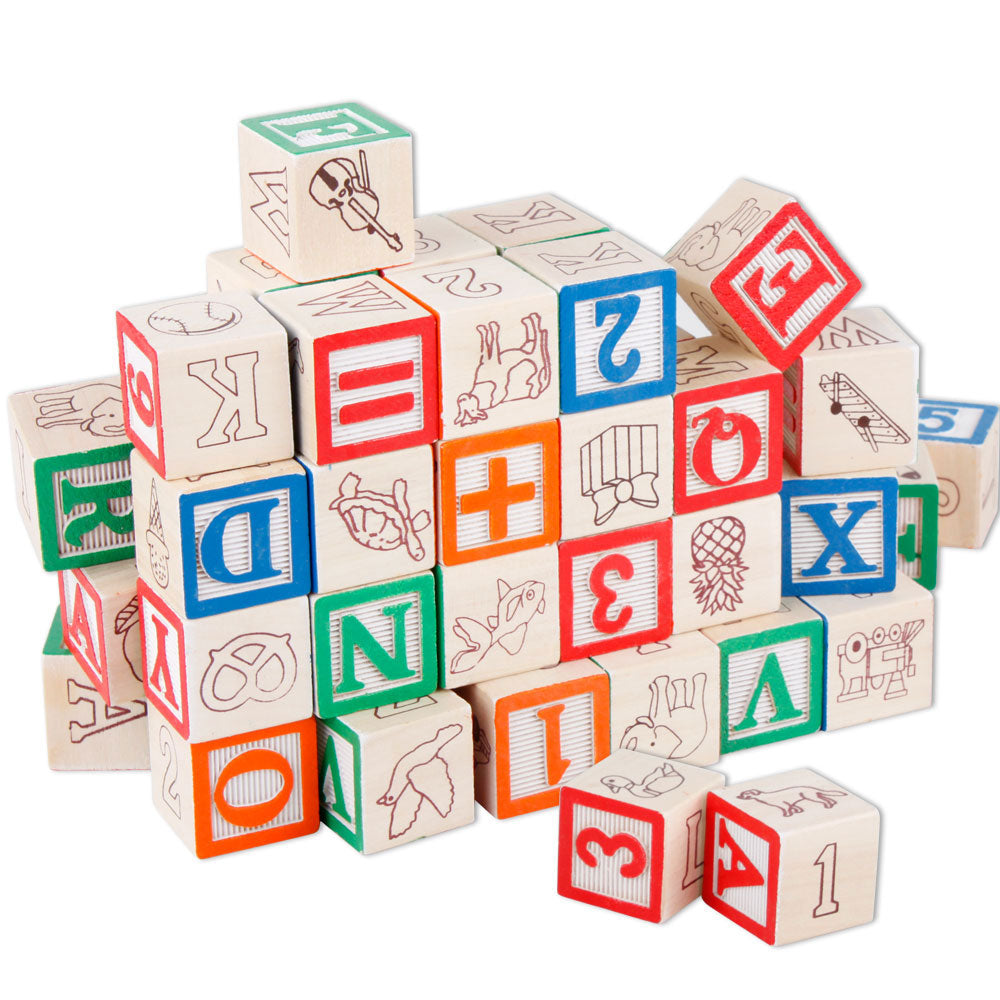 Toys Alphabet Blocks