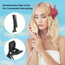 New 2 in 1 Portable Hair brush Hair Clip Comb Hairbrush Hairderssing Clips Massage Comb Hairstyling Tool Hair Clip