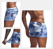 Men Underwear Classic 3D Jeans Shorts Classic Print Boxers Mens New Fashion Underpants