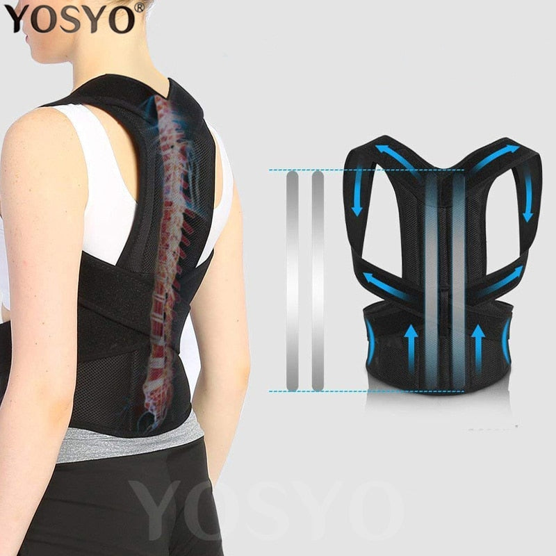 Posture Corrector for Men and Women Back Posture Brace Clavicle Support Stop Slouching and Hunching Adjustable