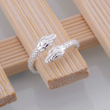 snake shiny light  Wholesale 925-sterling-silver ring 925 Fashion jewelry Silver Ring BWMXMWRA - sellhotproducts