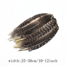 Rare Natural Eagle feathers sale for crafts DIY white big feathers For Wedding owl Plumas