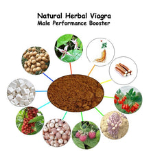 Wild Yam, Nature Herbs Revitalizer for Male Enhancement Prevent Erectile Dysfunction Product made of Epimedium Ginseng Rhodiola Lycium