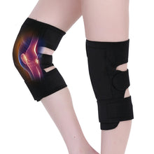 Magnetic Therapy Knee Pads Self Heating Pain Relief Arthritis Knee Support Patella Massage Sleeves