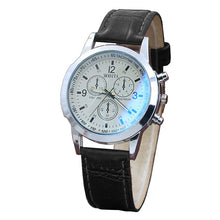Men's Watches Belt Sport Wristwatch Leather Quartz Men's Leather Military Casual Analog