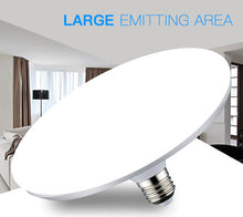Super Bright 220V E27 Led Bulb Light 20W 40W 50W 60W Lampada Ampoule Bombilla Energy Saving UFO Lamp