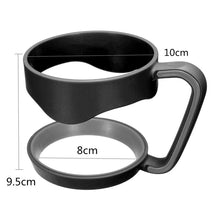 Portable Plastic Black Water Bottle Mugs Cup Handle for YETI 30 Ounce Tumbler Rambler Cup Hand Holder Fit Travel Drinkware - sellhotproducts