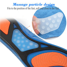 Orthotics Arch Pain Relief Massaging Insole Insert Pads Silicone Non-Slip Gel Soft Sport Shoe Insoles