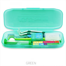 Oral Clean Tool Orthodontic Oral Care Kit Tooth Brush Mouth Mirror Interdental Brush Dental Floss Orthodontic Clean Kit