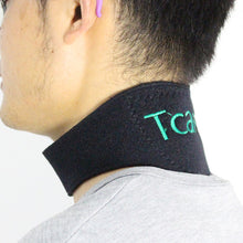 Tourmaline Neck Belt Self-heating Brace Magnetic Therapy Wrap Belt Protect Neck Support Spontaneous Heating Neck Care