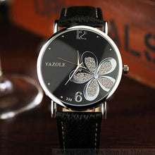 Ladies Wrist Watch Famous Quartz Water Resistant Black Color - sellhotproducts
