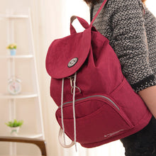Preppy Style Women Backpack Waterproof Nylon Backpack 10 Colors Lady Women's Backpacks Female Casual Travel Bag Mochila Feminina - sellhotproducts