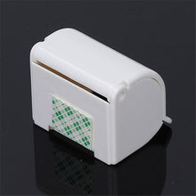 White Delicate Shaver Holder Wall Mounted Plastic Bathroom Shaver Razor Holder Cupula Shaver Caps Rack - sellhotproducts
