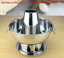 Stainless Steel Covered 1.8 liters hot pot, Charcoal Hotpot Outdoor Picnic Cooker - sellhotproducts