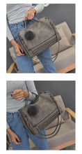 YBYT brand 2017 new fashion casual women handbag hotsale ladies large capacity solid rivet bag shoulder messenger crossbody bags - sellhotproducts