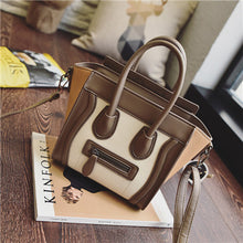 Trapeze Smiley Tote Bag Luxury Brand Pu Leather Women Handbag Shoulder Bag Famous Designer Crossbody Bags Sac - sellhotproducts