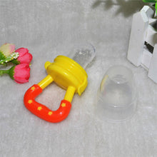New Soft Safety Silicone Infant Nipple Baby Food Chew Pacifier Soothers Silica Gel Fruits Vegetables Toothbrush Nipple T0123 - sellhotproducts