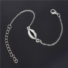 Simple Style Silver Plated Charm Bracelet Jewelry Gift Love Wedding Banquet Wholesale Top Quality - sellhotproducts
