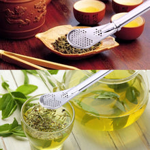 Stainless Steel Drinking Straw Filter Handmade Yerba Mate Tea Bombilla Gourd Washable Practical Tea Tools Bar Accessories - sellhotproducts