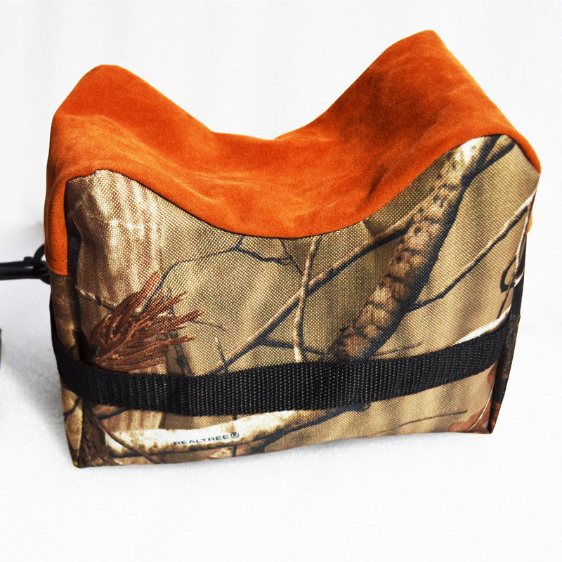 Jungle Camouflage Outdoor Portable Rear Shooting Gun Rest Bag Set Front Rifle Target Hunting Bench Stand Shotgun Sandbags - sellhotproducts