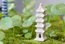 Tower China Historical Building Miniature Fairy Garden Home Houses Decoration Mini Craft Micro Landscaping Decor DIY Accessories - sellhotproducts