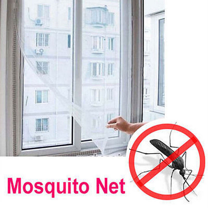 Summer DIY Insect Fly Bug Mosquito Door Window Net Mesh Screen Protector Windows Net Curtain Flyscreen Home Decoration EJ602668 - sellhotproducts