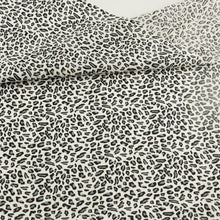 Leopard Printed 100% Black Cotton Fabric Quilting Patchwork Sewing Dolls Toy Home Textile Bedding Tales Tissue Fat Quarter Craft - sellhotproducts
