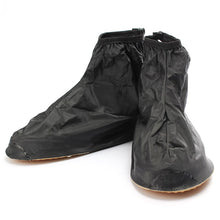 Waterproof Shoes Covers Reusable Slip-resistant Zipper Boot Overshoes - sellhotproducts