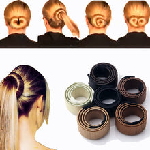 Women Hair Accessories Hair Curls Bun Hair Band Hair Twist Styling Synthetic Wig Braid Tools Bun Maker - sellhotproducts