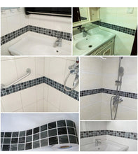 Line Wall Sticker 5M Waist Kitchen Waist Line Adhesive Bathroom Toilet Waterproof PVC - sellhotproducts