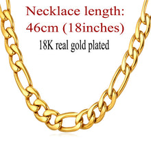 Jewelry Necklaces Chains Men Stainless Steel /Black Gun/Gold Color 9MM Long - sellhotproducts