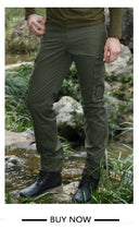 Plus Size Cargo Pants Men Casual Multi Pocket Pants Full Length Men's Joggers Army Style Winter Trousers Man Four Colors Mk76121 - sellhotproducts